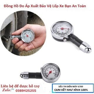 Đồng hồ đo áp suất lốp xe máy ô tô loại 1 đựng hộp nhựa cứng - TC-222 thumbnail