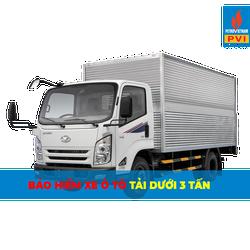 Bảo hiểm ô tô tải dưới 3 tấn