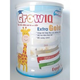 Sữa tăng chiều cao, trí não cho trẻ IQ Extra Gold 900g - GIQE9