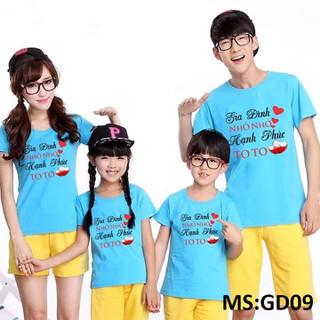 [Áo gia đình] Bộ áo thun gia đình nhiều mẫu mã dễ thương - ATGD2 thumbnail