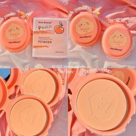 Phấn nền Quả Đào Peach Kiss Beauty siêu mịn - Peachkiss