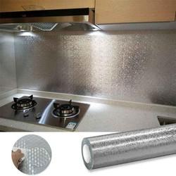 Giấy bạc dán tường bếp 3met