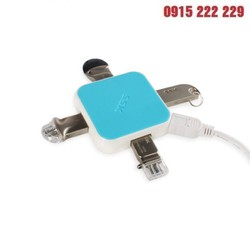 Hub USB 2.0 4 cổng SSK 029 - Bộ chia cổng USB thành 4 cổng - Bộ chia USB 4 cổng