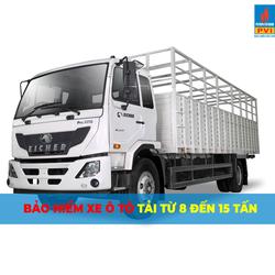 Bảo hiểm ô tô tải  8 - 15 tấn