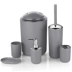 Double It Bộ 6 món dụng cụ vệ sinh phòng tắm European-Style