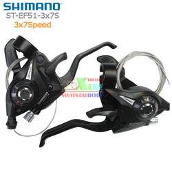 Bộ tay đề bấm xả Shimano ST-EF51-3x7Speed