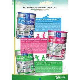 Sữa bột hoàng gia Úc Ausnz Premium Gold 900g - 000324