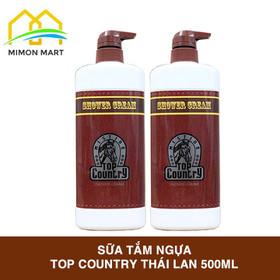 Combo 2 chai sữa tắm Ngựa Top Country Thái Lan chai 500ml - 2 TẮM NGỰA