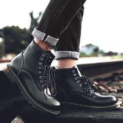 [ S*T ] Giày bot nam da bò đế khâu hàng chợ giá