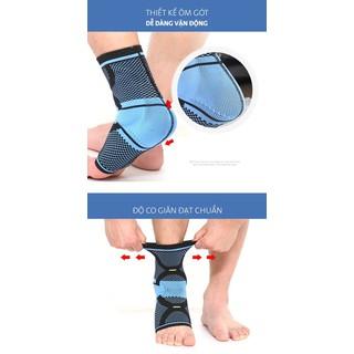 Băng bảo vệ gót chân mắt cá chân băng bảo vệ ống chân - AL7131 AOLIKES thumbnail