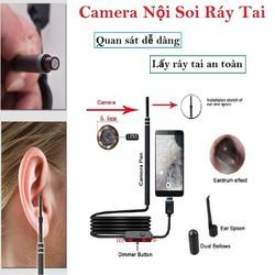 DỤNG CỤ LẤY RÁY TAI CÓ ĐÈN- NÔI SOI-USB HD VISUAL EAR CAMERA