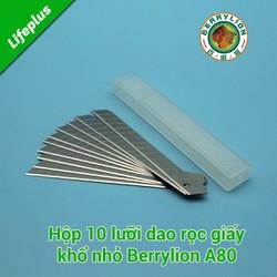 10 lưỡi dao rọc giấy khổ A80