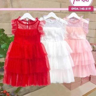 Đầm hè bé gái - FREESHIP TẶNG CÀI NƠ - Đầm bé gái thoáng khí 2020 - Đầm bé gái đàm bé gái - đàm bé gái