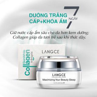 Bộ Tẩy Tế Bào Chết Da Mặt 100ml và Collagen Dưỡng Trắng Beauty Sleep Cấp Khóa Ẩm 30ml LANGCE - LA565-657 6