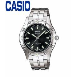 Đồng hồ nam CASIO MTP-1243D-1AVDF kính khoáng dây kim loại trắng