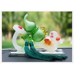 [SALE SINH NHẬT 27-29.05] Nước hoa ô tô biểu tượng Hồ Lô Ruyi - Tượng trang trí taplo - Tượng phong thủy
