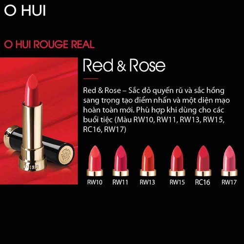 Son môi OHUI Rouge Real Lipstick 3.5g