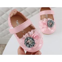 Giày đính hoa cho bé gái RBG01