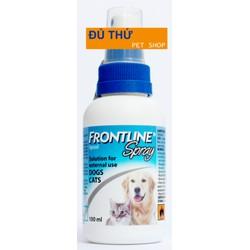 Frontline Spray - Dùng ngoài da, diệt ký sinh trùng cho chó, mèo