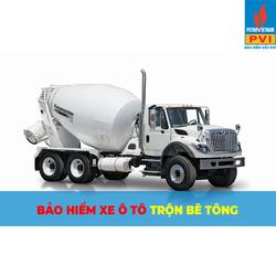 Bảo hiểm ô tô bồn trộn bê tông từ 8-15 tấn