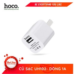 Củ Sạc Hoco 1A SMART CHARGER cho iphone UH102 - Chính Hãng