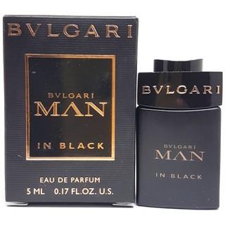 Nước hoa Nam BVLGARI MAN IN BLACK Eau de Parfum chai 5ml chính hãng - BVLGARI MAN IN BLACK thumbnail