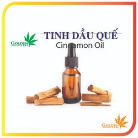 Tinh dầu thiên nhiên 100% - Tinh dầu quế 100% tự nhiên - Lọ 10ml - TDque10