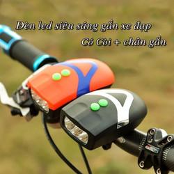đèn gắng xe đạp 3 bóng