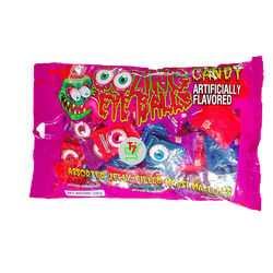 Kẹo Dẻo Xốp Kinh Dị Con Mắt Candy Zing Eye Balls Assorted Jelly Filly Marshmallows 250g