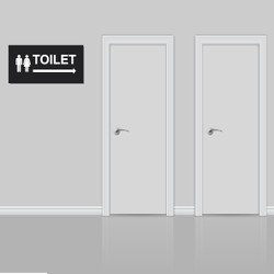 Bảng hướng dẫn nhà vệ sinh