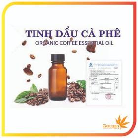 Tinh dầu thiên nhiên - Tinh dầu cafe 100% tự nhiên - Lọ 10ml - TDcafe10