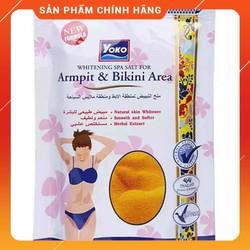 Muối Tẩy Tế Bào Chết Yoko Thái Lan Trắng Da Vùng Nách Bikini 220gr