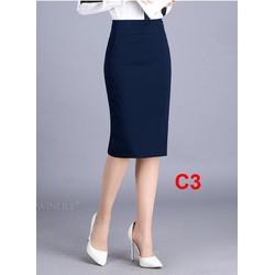 Chân váy bút chì C3