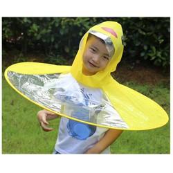 Áo mưa con vịt cho bé siêu dễ thương, chất liệu an toàn với bé, nhiều màu sắc dễ thương, chống thấm, chống ẩm hiệu quả