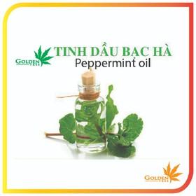 Tinh dầu thiên nhiên - Tinh dầu bạc hà 100% tự nhiên - Lọ 10ml - TDbacha10
