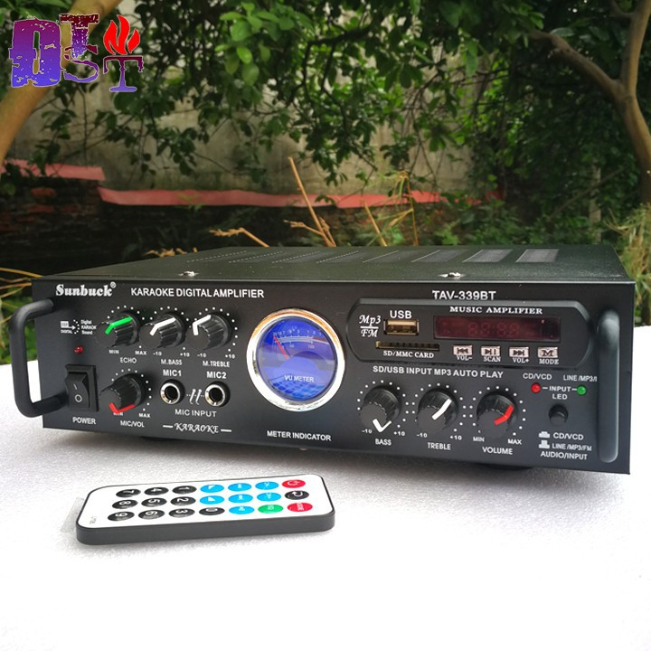 Amply 220V-12V Bluetooth Sunbuck TAV-339BT - KST-1625