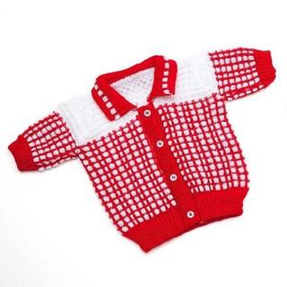 2 Bộ áo, nón và vớ tay bằng len cho trẻ sơ sinh [ĐƯỢC KIỂM HÀNG] 22668900 - 22668900 thumbnail