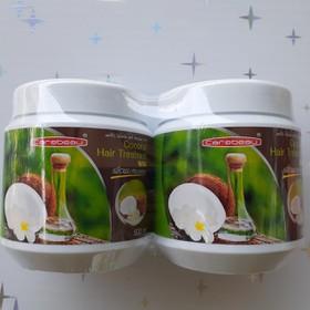 Combo 2 hũ Kem ủ tóc Carebeau Thái Lan tinh chất dừa non siêu mềm mượt - 2 ủ tóc dừa