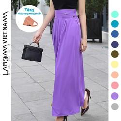 Chân váy chống nắng Laroma chính hãng màu tím