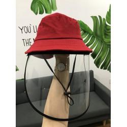 Nón chống dịch cho bé , mũ bảo hộ chống dịch kèm kính chắn nhiều màu