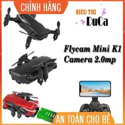 Flycam Mini K1 Wifi Camera 720P Mới Kèm Túi Xách Tay Đồ Chơi Giải Trí