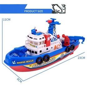 Tàu thủy chạy dưới nước bằng pin, có nhạc đèn-phun nước hấp dẫn - Cano phun nước