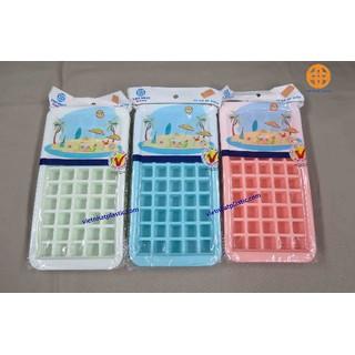 Nhập Mã HL2307 Giảm ngay 15K Combo 3 Khay nhựa dẻo làm đá, làm thạch 50 viên - khayda50 thumbnail