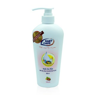 Nước súc bình sữa và đồ chơi trẻ em Baby care 500ml - Hương dâu - 8936072190726 thumbnail