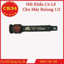 Nối Khẩu Cho Máy Bulong Có Lỗ Dài 125mm