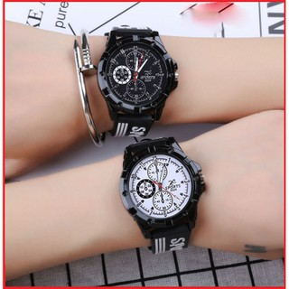 Đồng hồ cặp đôi đẹp - Giá 1 cặp - Đồng hồ cặp đôi 1