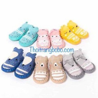 Giày tập đi cho bé - SET 2 ĐÔI GIÀY VỚ CHO BÉ-ngẫu nhiên