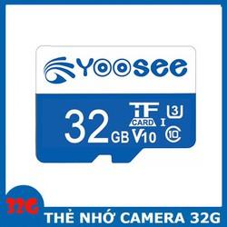 [ FREE SHIP ] Thẻ nhớ MicroSD YooSee 32GB - U3 Tốc độ cao