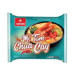 Thùng 30 Gói Mì Tôm Chua Cay Vifon 60g