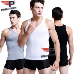 [ SHOP TRỢ ] Combo 3 áo lót ba lỗ nam cotton thoát nhiệt khử mùi thoáng mát pigofashion ABL01 -02- nhiều màu